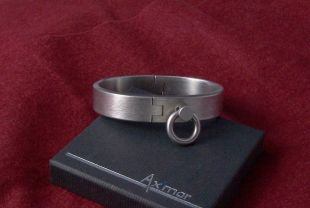 Bracelet Hephaistos 195mm, 15x4mm, classic bolt with ring