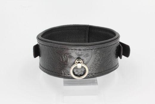 Halsband mit Paisley Prägung