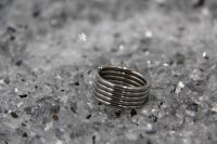 Fingerring Rolle, Ringgröpe 59 in hochglanz