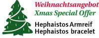 Hephaistos Armreif 195mm, 15x4mm